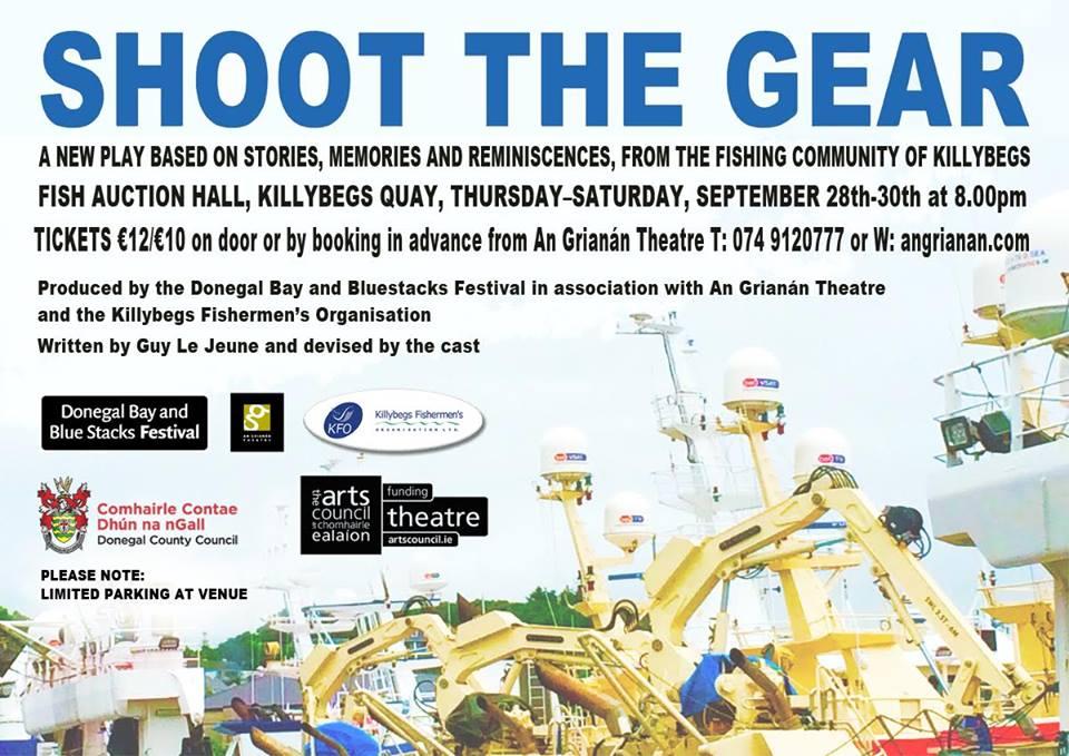 An Grianán on tour: Shoot the Gear by Guy Le Jeune