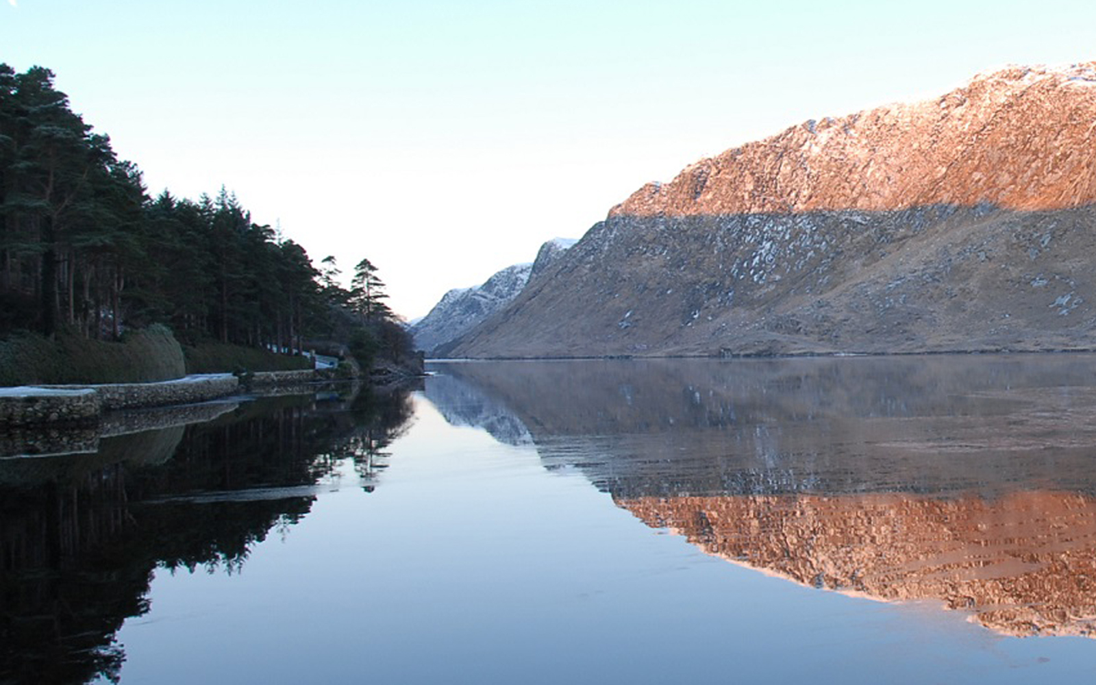 Glenveagh National Park dusted with snow. Source: http://www.glenveaghnationalpark.ie