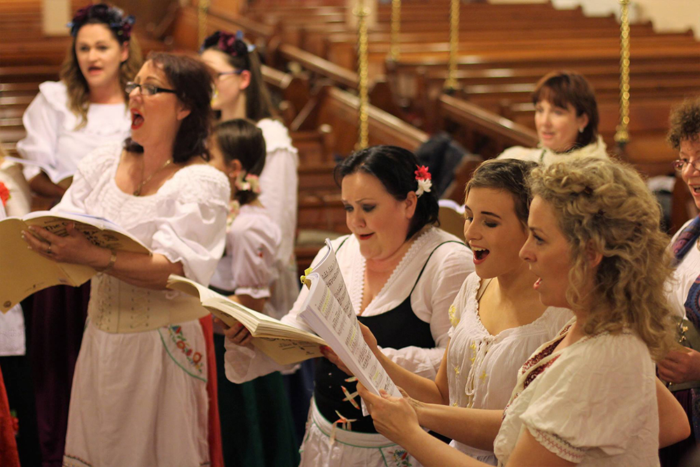 Rehearsals for The Gondoliers