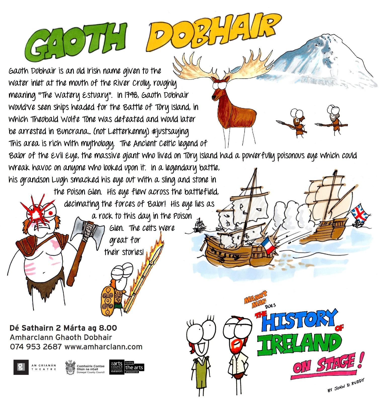 Amharclann Gaoth Dobhair, Sat 2 March