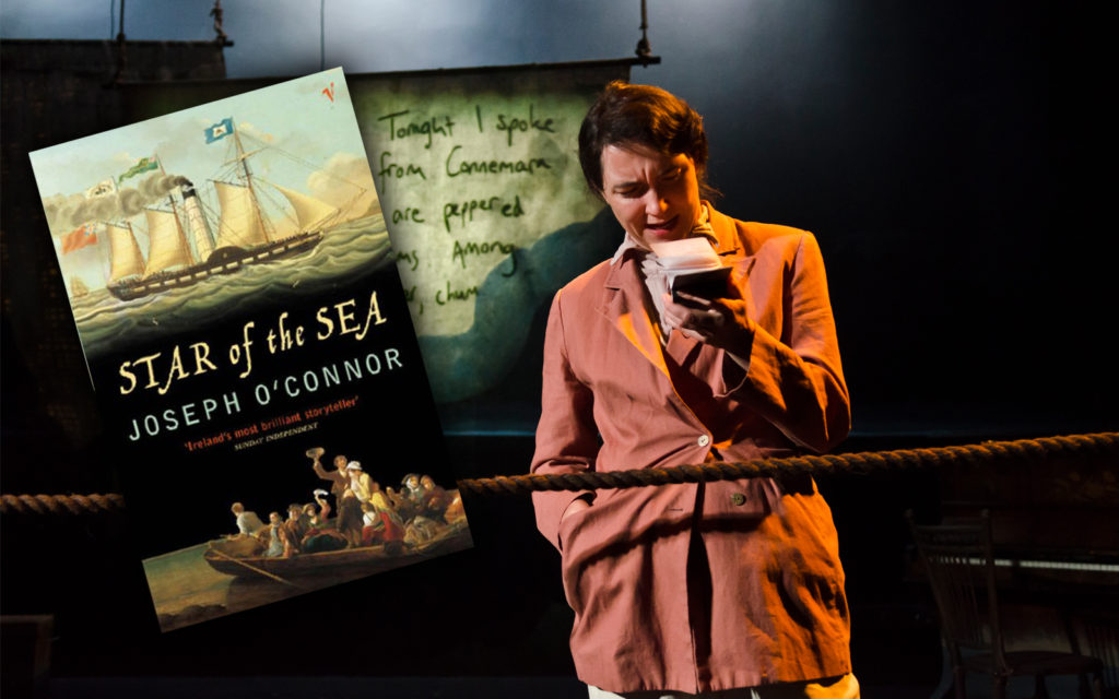 Moonfish Theatre's Star of the Sea is freely adapted (with the author's blessing) from Joseph O'Connor's acclaimed novel.