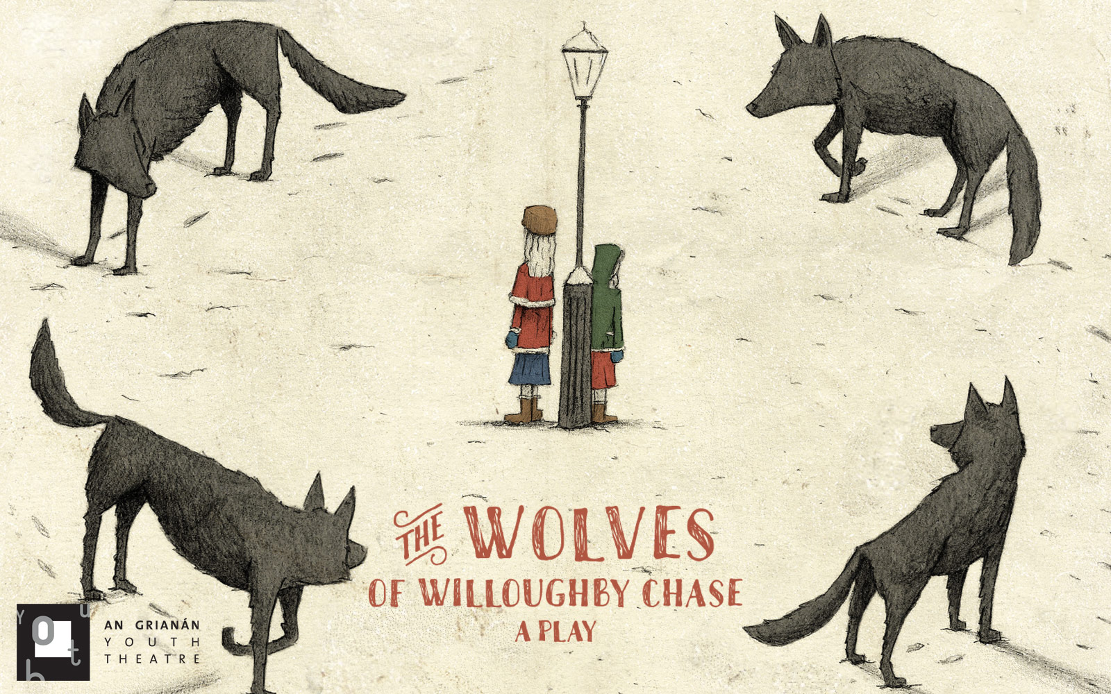 An Grianan Youth Theatre present The Wolves of Willoughby Chase.