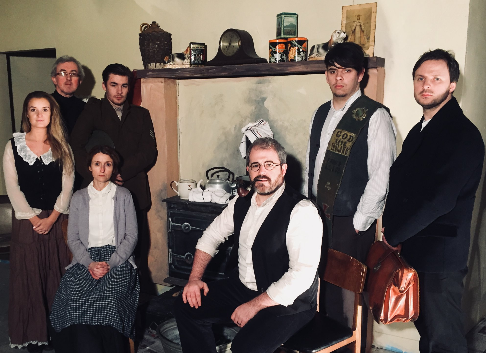 The Letterkenny Music and Drama Group's Beneath An Irish Sky, a new play by local author Kieran Kelly.