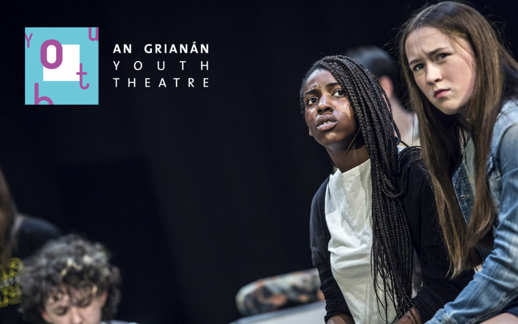 An Grianan Youth Theatre - The Delphi Dilemma, April 2016. Photo by Paul McGuckin. All rights reserved.