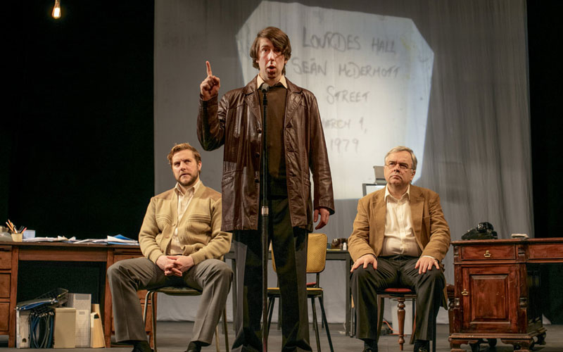 Fishamble and Nasc present Haughey | Gregory by Colin Murphy