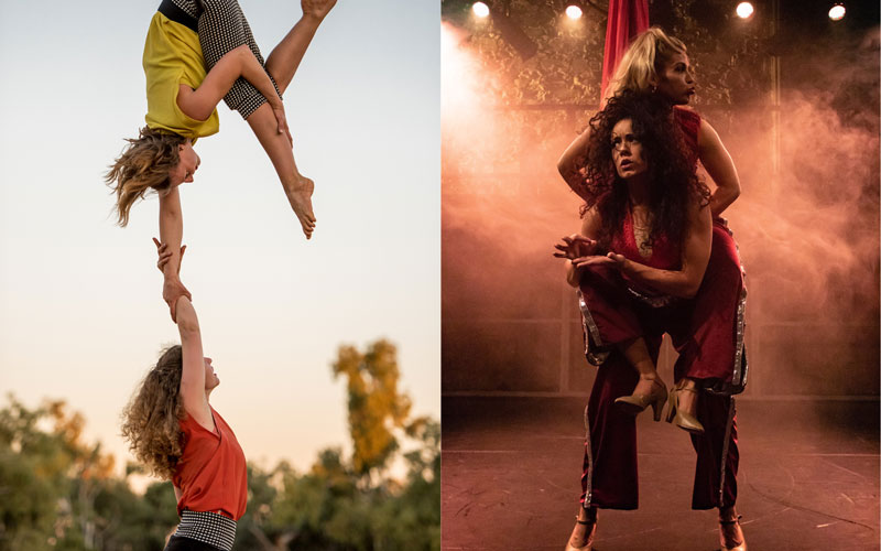 Irish Aerial Dance Fest 2019 doublebill: Tandem and Caged