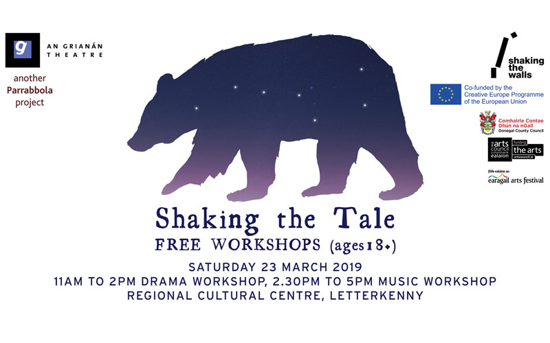 Shaking the Tale workshop
