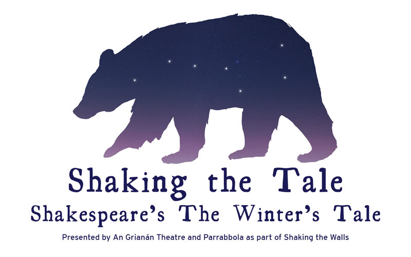 An Grianan Theatre and Parrabbola present Shaking The Tale: The Winter's Tale July 2019. Shaking the Tale is part of Shaking the Walls, a project co-funded by the Creative Europe Programme of the European Union. The project is led by Gdański Teatr Szekspirowski (Poland), the other partners are Parrabbola (UK), Cooltour Ostrava (Czech Republic) and Ratatam (Iceland). As well as Creative Europe, our co-funders for Shaking the Tale include the Donegal County Council, Arts Council of Ireland and the Earagail Arts Festival.