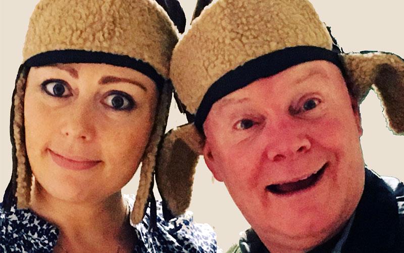 Valerie Bryce and Eoghan Mac Giolla Bhridge in Songbirds