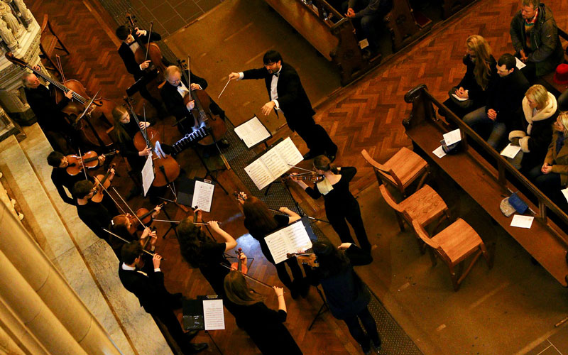 Donegal Chamber Orchestra. Photo by John Soffe. All rights reserved.