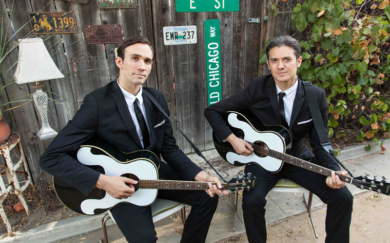 The Everly Brothers Experience featuring the Zmed Brothers and the Bird Dogs.
