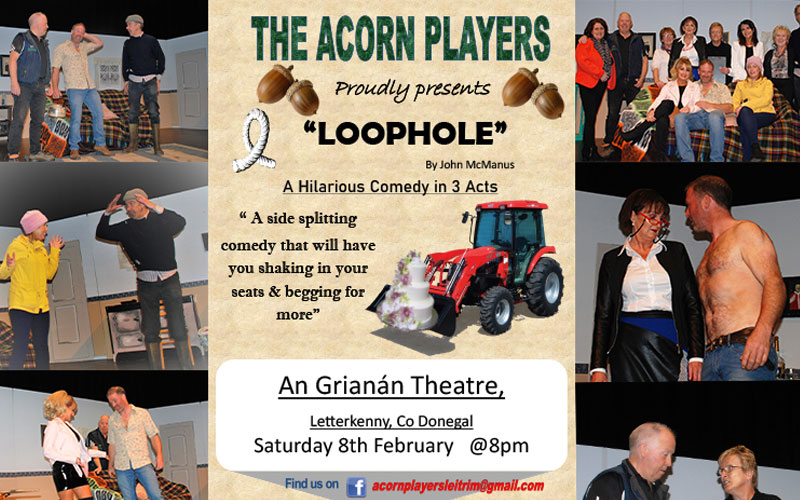 Acorn Players present Loophole