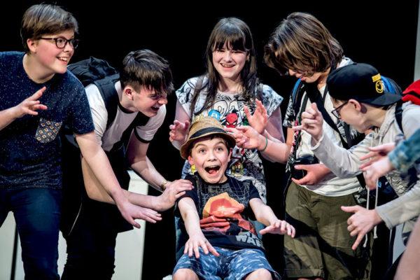 An Grianán Youth Theatre's The Delphi Dilemma, 2017