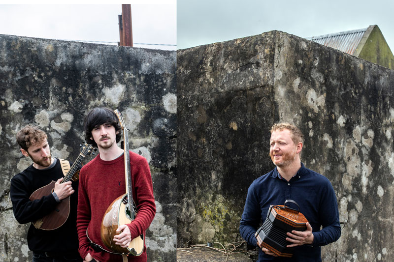 Music Network in association with An Grianán and the Regional Cultural Centre present Ye Vagabonds and Cormac Begley
