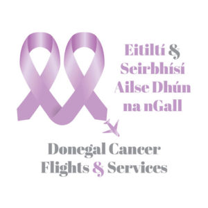 Donegal Cancer Flights and Services Logo