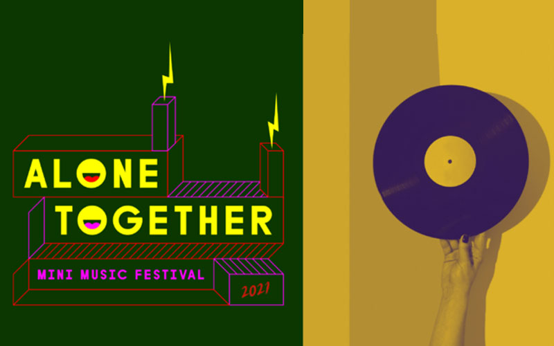 Alone Together 2021, mini music festival presented by Regional Cultural Centre and An Grianán Theatre.