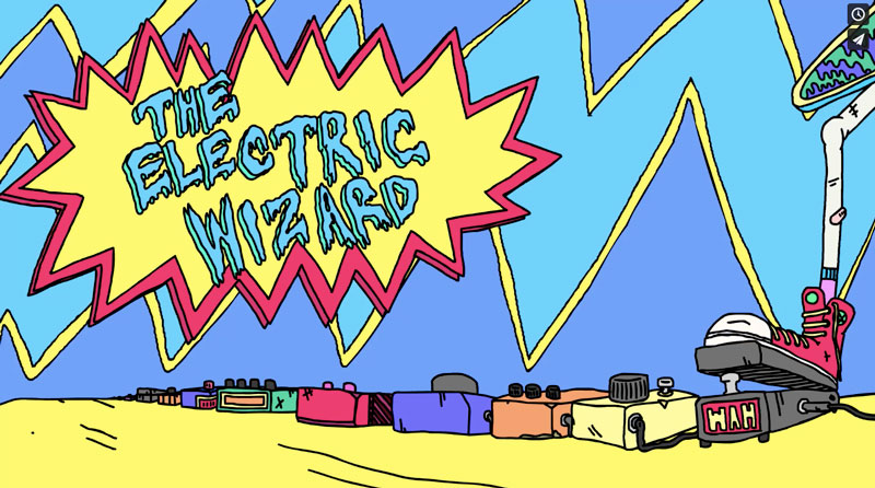 Electric Wizard, animated short by Eoin O'Kane, part of Lasta Shorts