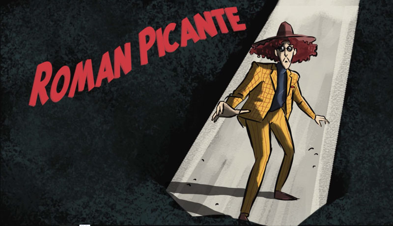 Roman Picante, animated short by Matthew Donnelly, shown as part of Lasta Shorts