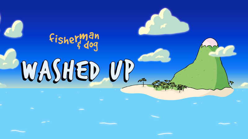 Fisherman and Dog, animated short by Dylan Butter, shown as part of Lasta Shorts