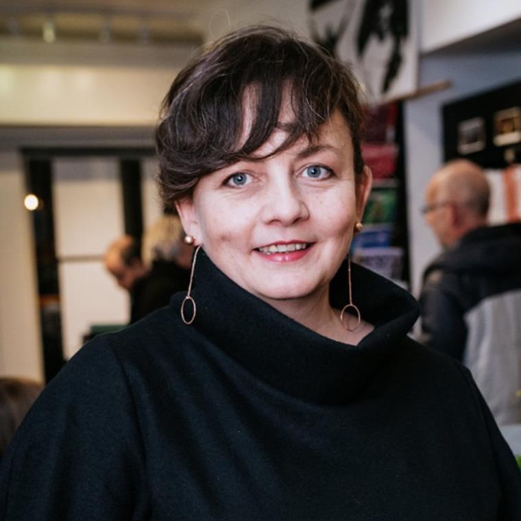 Caitríona McLaughlin, director of An Grianán Theatre's The Enemy Within