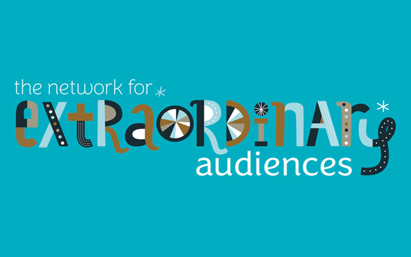 Network for Extraordinary Audiences logo graphic