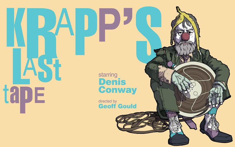 Denis Conway stars in Samuel Beckett's Krapp's Last Tape
